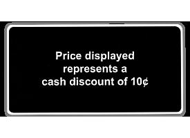 2 Tier Pricing Sticker