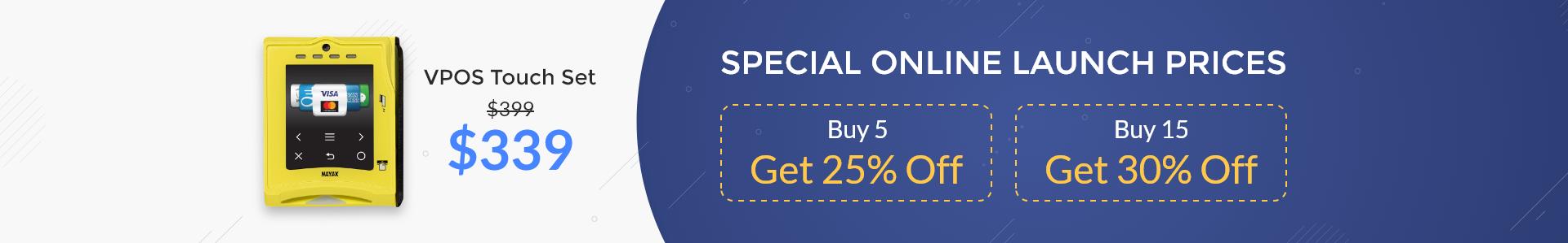 Special Online Launch Prices - Buy 5 Get 25% Off, Buy 15 Get 30% Off